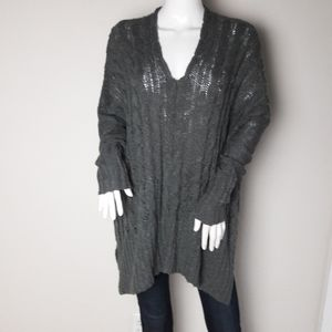 Onetheland Oversized Blue/Gray Sweater